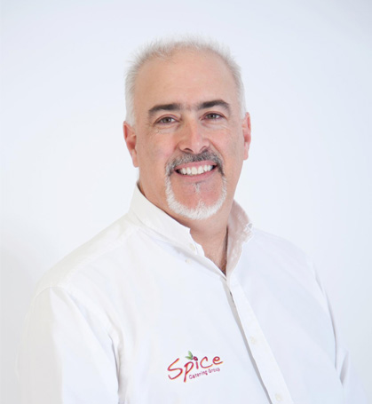 Dan Biagioni Owner of Spice Catering